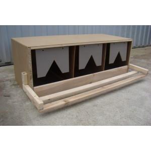 Standardnest für Hühner (ohne Schublade), Nestmodell Unterteil