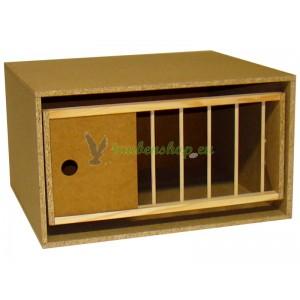 Standard-Zelle 50 für Tauben - Drehrahmen/Kipprahmen