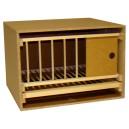 Zelle 50 mit Gitter und Schublade - normaler Rahmen