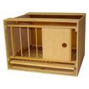 Zelle 56 DELUX mit Gitter und Schublade - normaler Rahmen