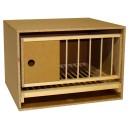 Zelle 57 mit Gitter und Schublade - Drehrahmen/Kipprahmen