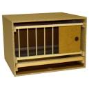 Zelle 57 mit Gitter und Schublade - normaler Rahmen