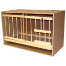 Zelle 73 mit Gitter und Schublade - Doppelrahmen Pfahl