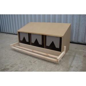 Standardnest für Hühner (ohne Schublade), Nestmodell Oberteil